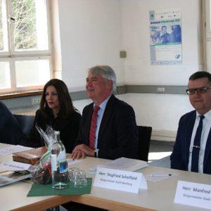 Besuch der Integrationsministerin Bilkay Öney