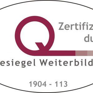 Gütesiegel Weiterbildung für die AEF – spanische Weiterbildungsakademie