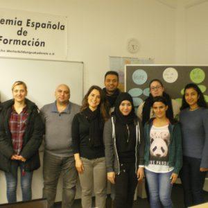 """Primer taller de voluntarios y refugiados de """"Neue Heimat Schwarzwald""""."""