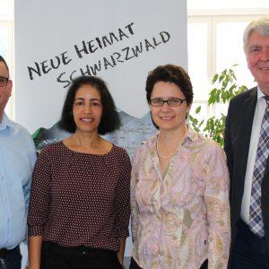 Besuch der Abgeordneten Frau Marion Gentges in der AEF Hornberg