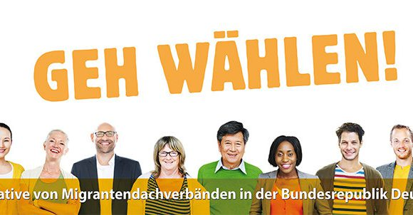 Campaña para el voto de migrantes en Alemania