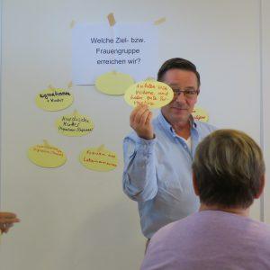 Multikultureller Austausch und Lernen im Seminar der Frauenkurse