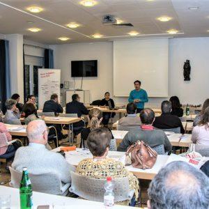 Gran acogida del seminario 'El éxito de los hijos, compromiso de los padres' en Königswinter