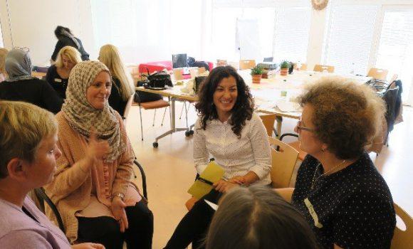 Primer curso de formación de la AEF en el ámbito ''cursos de mujeres'' en la región de la Selva Negra